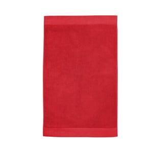 Czerwony dywanik łazienkowy Seahorse Pure, 50x90cm