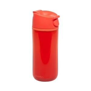 Kubek termiczny Flip & Sip 350 ml, czerwony