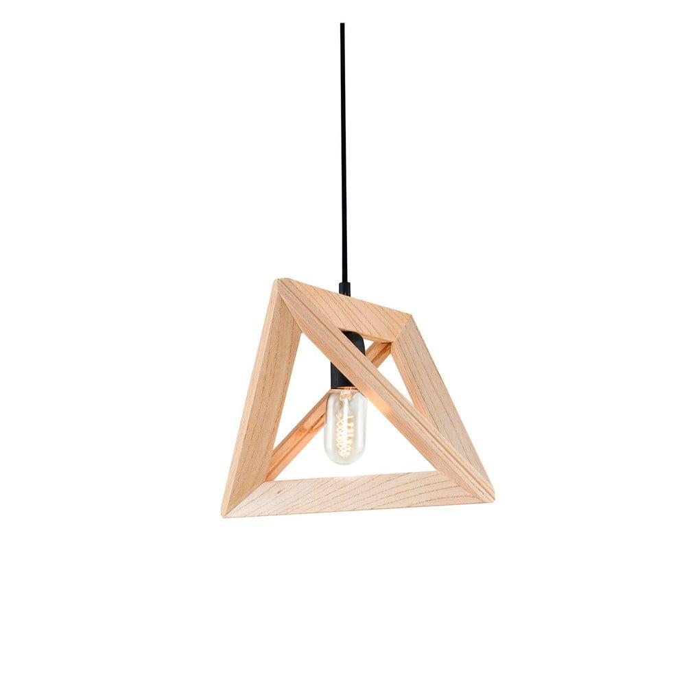 Drewniana lampa wisząca Home Geometry