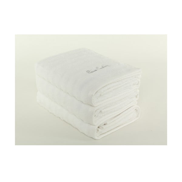 Komplet 3 ręczników Pierre Cardin Snow, 50x90 cm