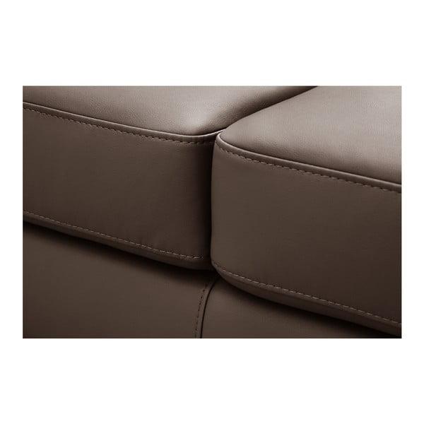 Czekoladowa sofa Backstage