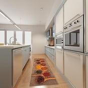Wysoce wytrzymały chodnik kuchenny Floorita Spices, 60x220 cm