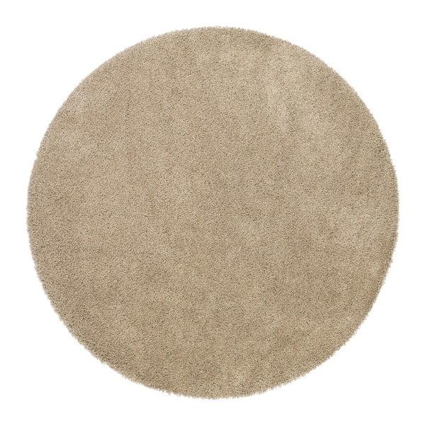 Beżowy dywan Universal Aqua, Ø 80 cm
