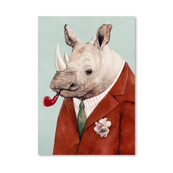 "Plakat ""Rhino"", 30x42 cm"