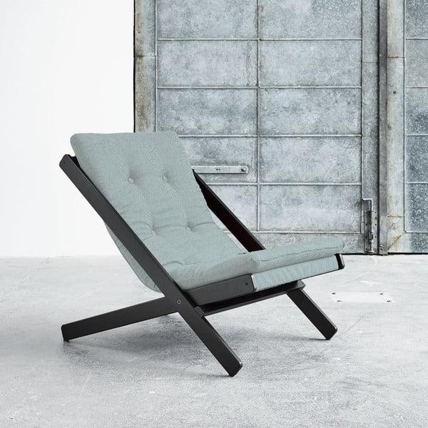 Fotel składany Karup Boogie Black/Sky Blue