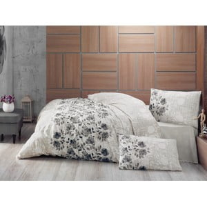 Narzuta na łóżko z poszewkami na poduszki Lena Grey, 220x230 cm