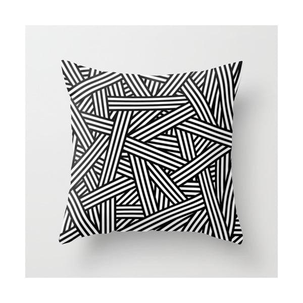 Poszewka na poduszkę Black´n´white II, 45x45 cm