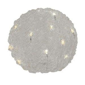 Lampa stołowa Almni, srebrna