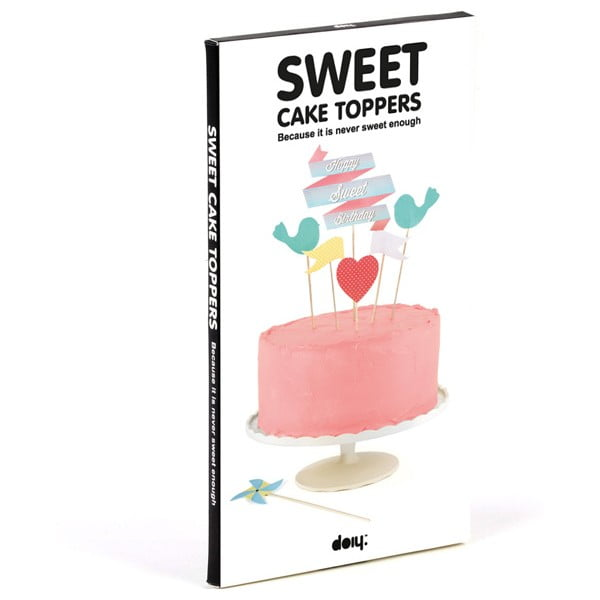 Zestaw ozdób na tort Sweet