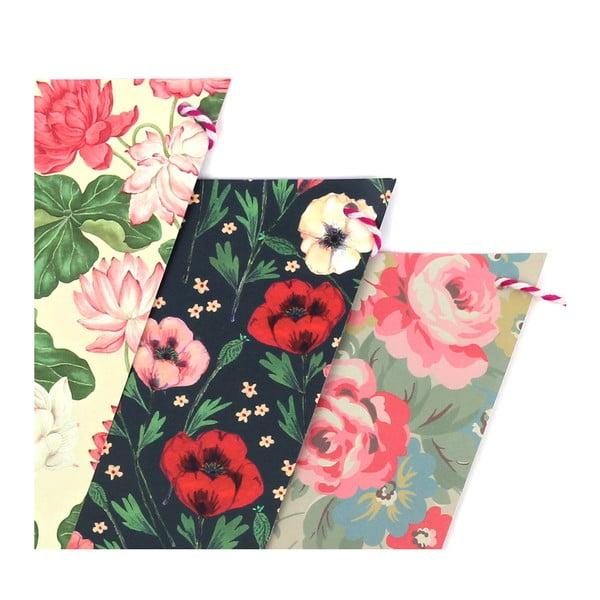Flagietki imprezowe Floral
