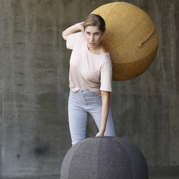 Piłka do siedzenia VLUV 75 cm, oliwkowa