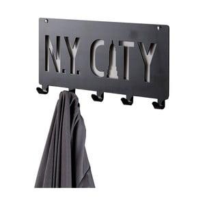 Czarny wieszak Compactor NY City