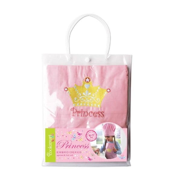 Zestaw fartucha i czepka dla dzieci Cooksmart England Princess