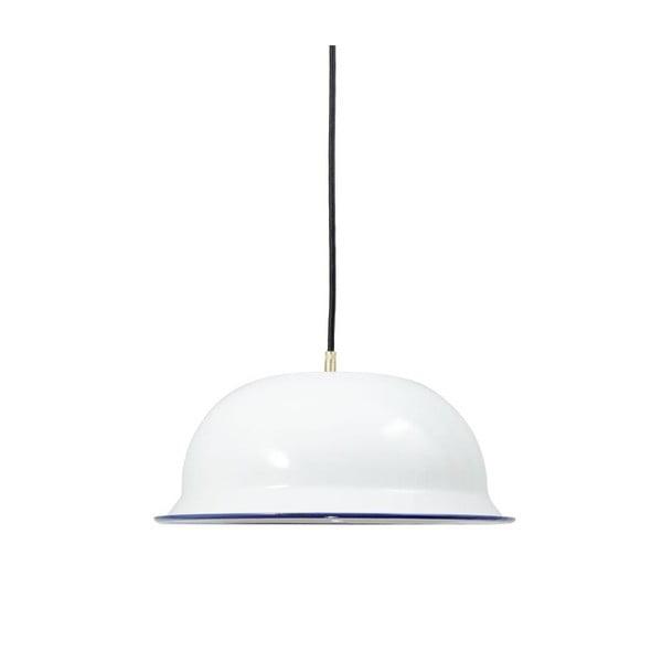Lampa sufitowa Emailleleuchte 01 White/Black