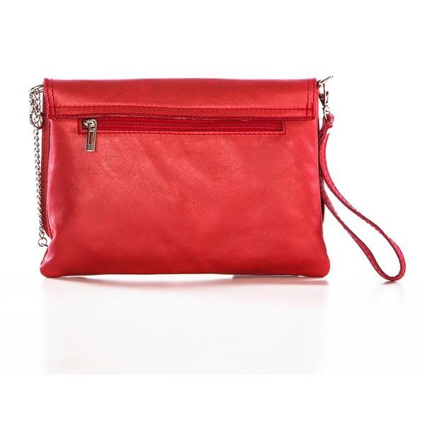 Skórzana torebka Souvage Red
