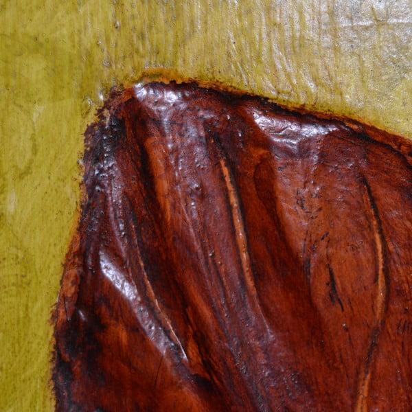 Drewniany panel Leaf, 60x80 cm