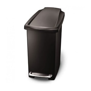Kosz na śmieci z pedałem Gigi 10 l, czarny