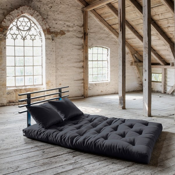 Sofa rozkładana Karup Shin Sano Black/Gray
