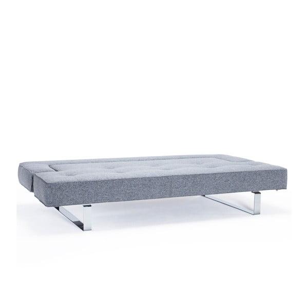 Rozkładana sofa Puzzle Luxe, grafitowa