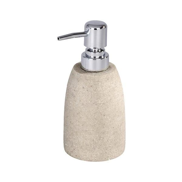 Beżowy dozownik mydła Wenko Goa