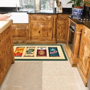 Wytrzymały dywan kuchenny Webtapetti Olive Oil & Co., 60x115 cm