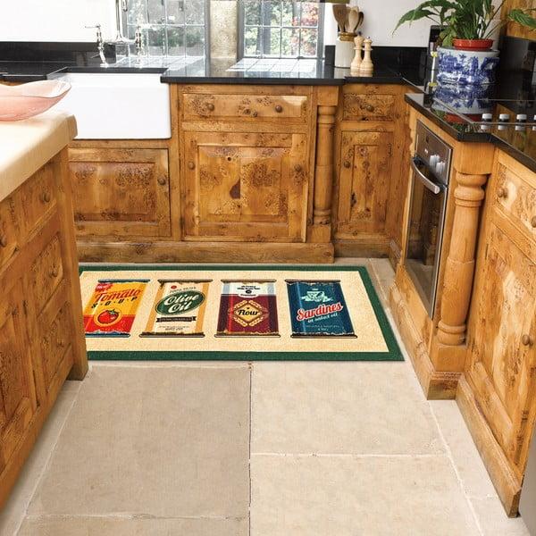 Wytrzymały dywan kuchenny Webtapetti Olive Oil & Co., 60x190 cm