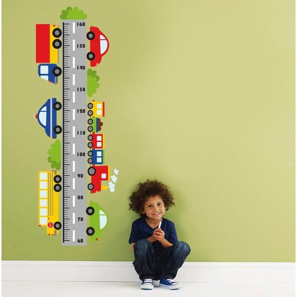 Naklejka dekoracyjna na ścianę Centymetr Samochody