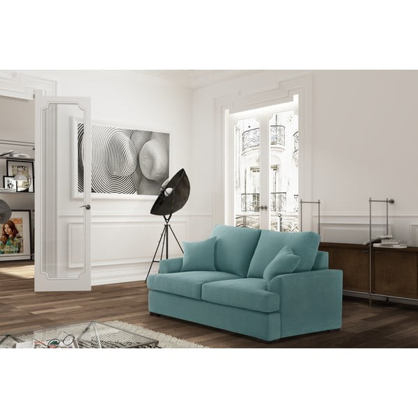 Sofa dwuosobowa Jalouse Maison Irina, miętowa