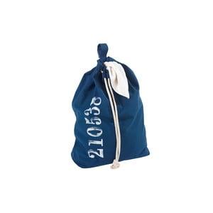 Niebieski wiszący kosz na pranie Wenko Sailor, 50 l