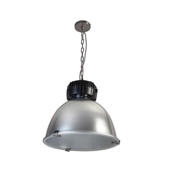 Srebrno-czarna lampa wisząca ETH High Bay