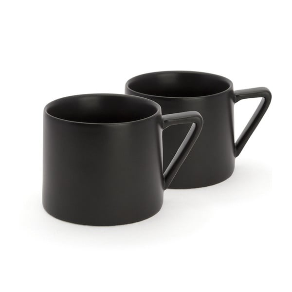 Zestaw 2   czarnych kubków Bredemeijer Lund
