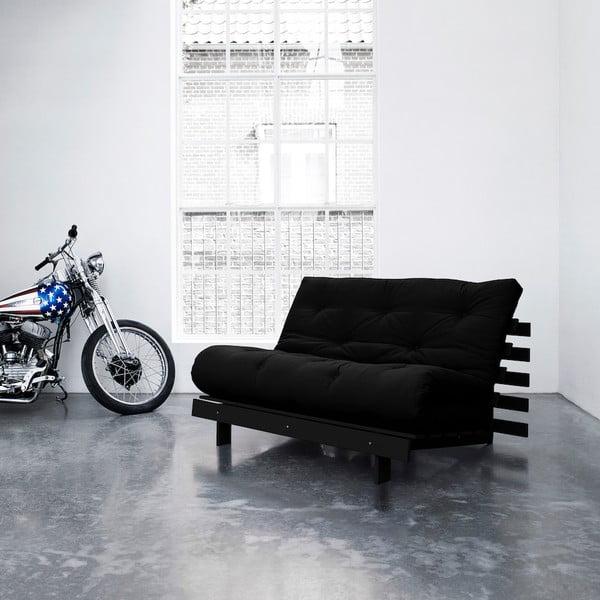 Sofa rozkładana Karup Roots Wenge/Black