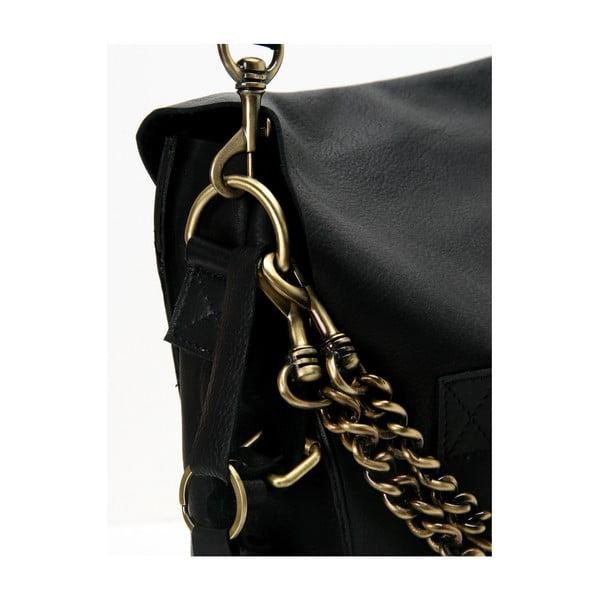 Czarna torba skórzana vintage O My Bag Sleazy Jane