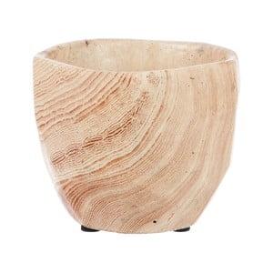 Drewniana doniczka Cem, 10 cm
