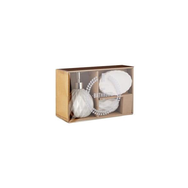 Zestaw łazienkowy Premier Housewares Sunrise White