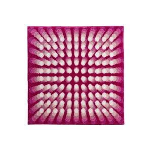 Dywanik łazienkowy Kolor My World VII 90x90 cm, różowy