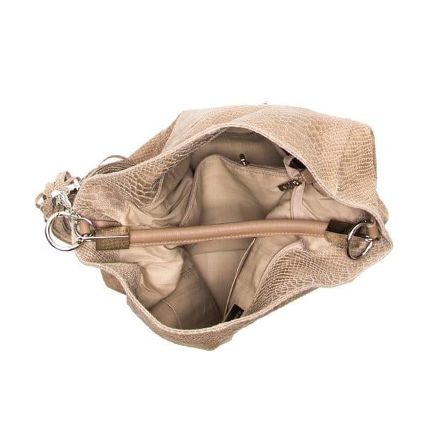 Skórzana torebka Foto, brązowa