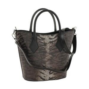 Skórzana torebka Teggie Black