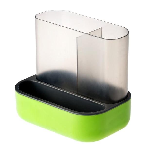 Zielona suszarka na urządzenia kuchenne Vigar Rengo