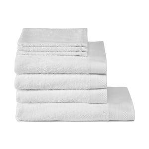 Zestaw łazienkowy Pure White, 7 szt.