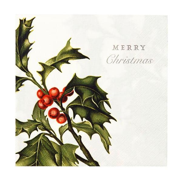 Serwetki Merry Christmas, 20 szt.