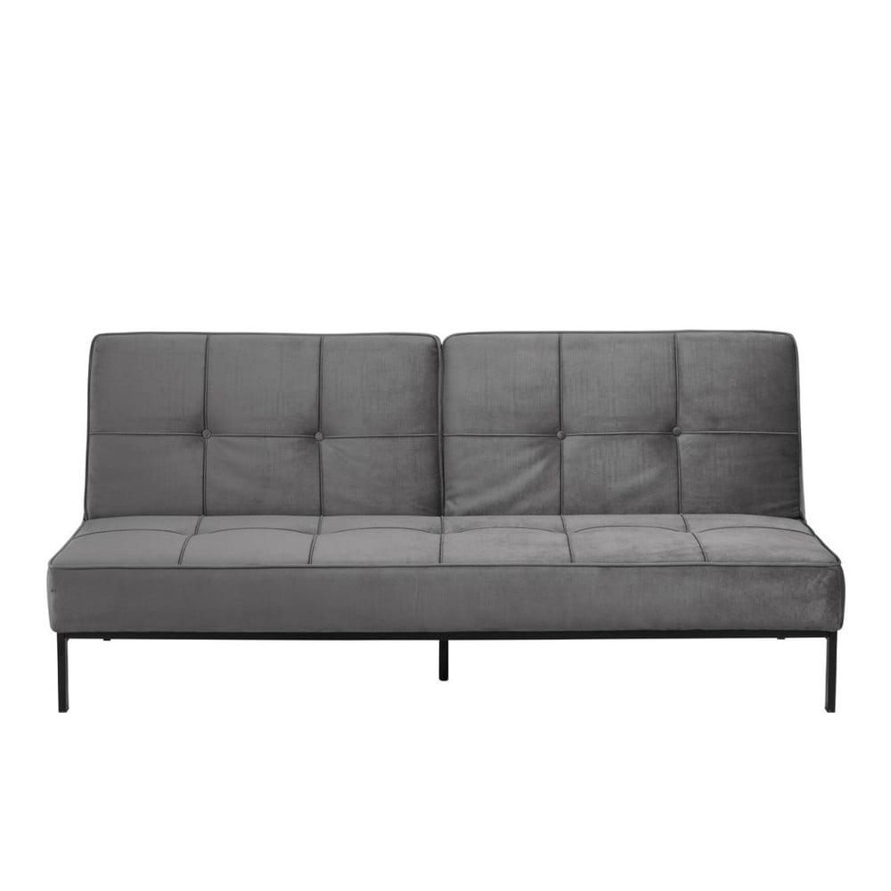 Jasnoszara rozkładana sofa Actona Perugia