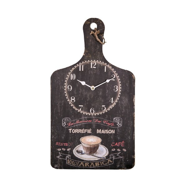 Zegar w kształcie deski do krojenia Antic Line Maison