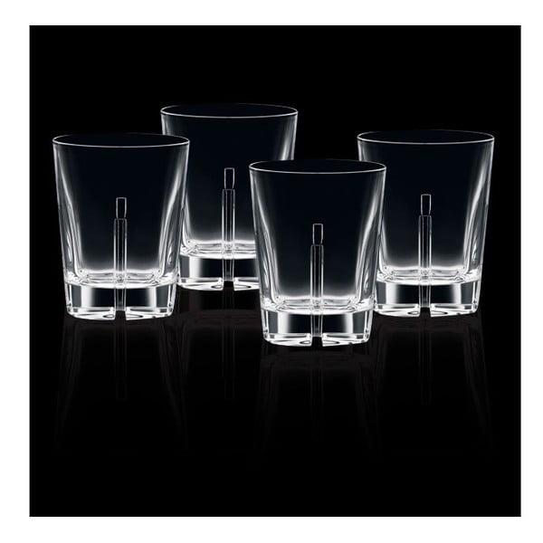 Zestaw 4 szklanek do whisky Havanna, 345 ml