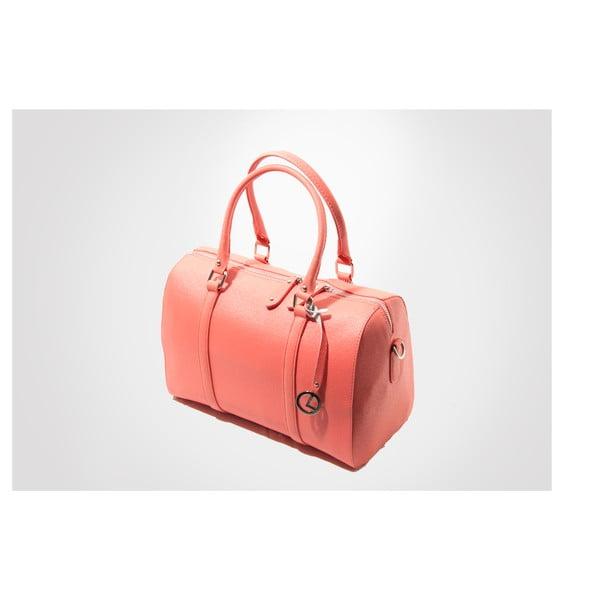 Skórzana torebka Sophie, coral
