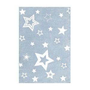 Niebieski dywan dziecięcy Happy Rugs Satrlight, 100x160 cm