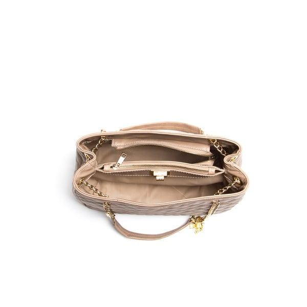 Skórzana torebka Isabella Rhea 2055, beżowa