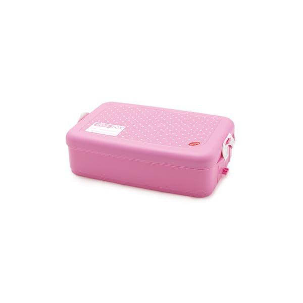 Pojemnik na obiad Snack Box Pink, 1,33 l