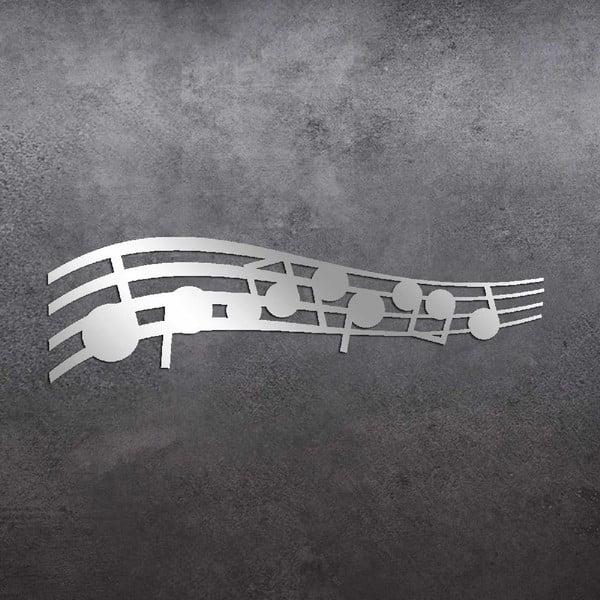 Lustro dekoracyjne Music Notes