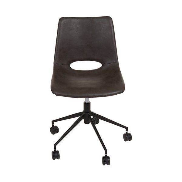 Szare krzesło biurowe Santiago Pons Avedis